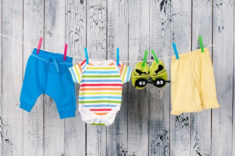 Как стирать вещи младенца