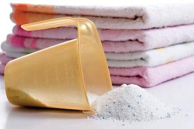 пеленки для новорожденного и стиральный порошок